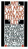 Art for Art's Sake and Literary Life, Gene H. Bell-Villada and Gene Bell-Villada, 0803261438