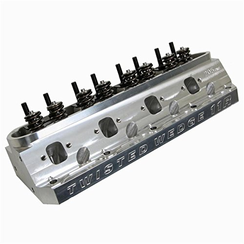 (TRICK FLOW TFS-52616601-C03 Alum Cyl Head CNC SBF 65cc T/W 205cc Assembled)