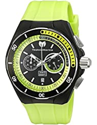 Technomarine Mens TM-115160 Cruise Sport Analog Display Quartz Green Watch