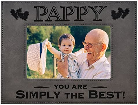 Papaw Pa Fathers day Gift Daddy Personalized Picture frame Happy Birthday Dad