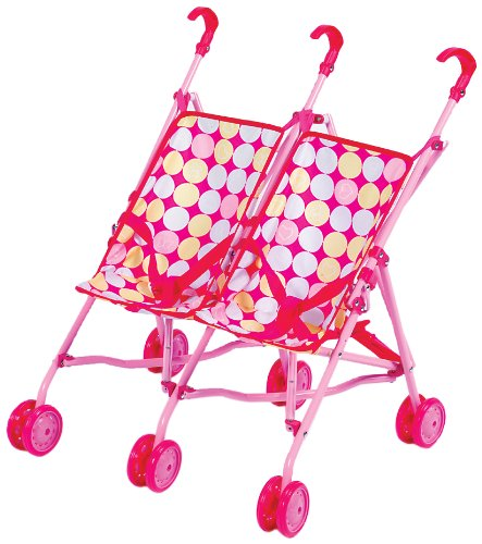 Small World Toys All About Baby Dolls - Double the Fun Stroller (for dolls)