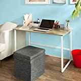 Haotian FWT13-N, Natural Home Office Rectangle Table Desk Computer Workstation, 120x60x76cm