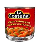 La Costena Sliced Pickled Carrots, 14.1-Ounce Cans (Pack of 12)