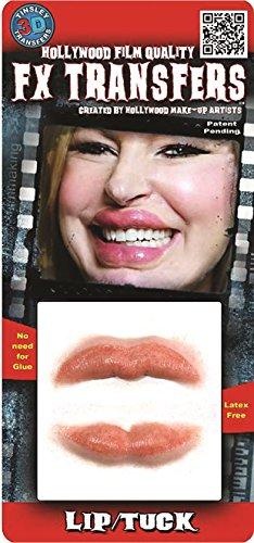 Tinsley Transfers  Lip Tuck, Flesh/Multi, One -