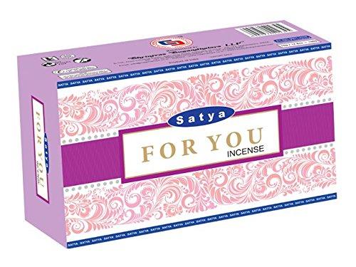 Satya For You Agarbatti 15g (12 (Satya Incense Sticks)