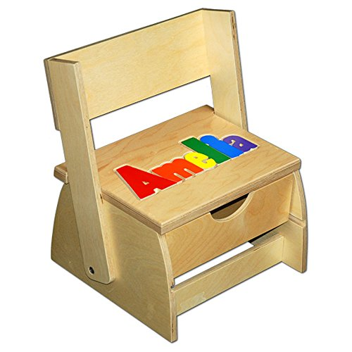 Step 'n Store Name Puzzle Stool by Damhorst Toys & Puzzles