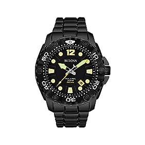 Bulova Men's Black Sport Watch