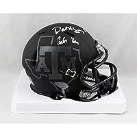 $75 » Dat Nguyen Autographed Texas A&M Black Speed Riddell Mini Helmet w/Gig Em- Jersey Source Auth