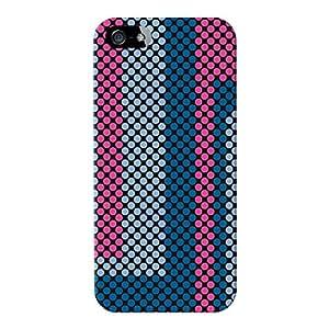 Armadillo Cases Digital Impreso en 3d de alta calidad diseño de puntos Rosa Full Wrap Case, para iPhone 5/5S de Gadget Glamour