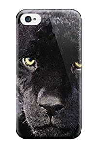 Best Anti-scratch And Shatterproof Black Cheetah Phone Case For Iphone 4/4s/ High Quality Tpu Case 8832274K86870166 wangjiang maoyi by lolosakes
