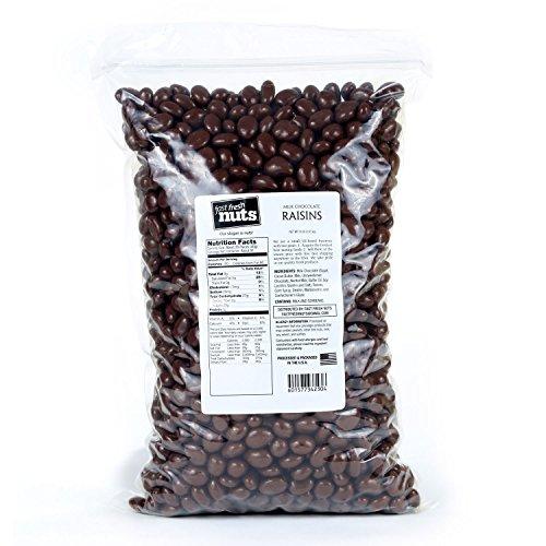 Bulk Chocolate Raisins - 8 lb - Fast