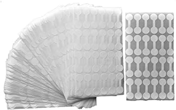 Price and Indentification Tags//Tyvek Self Adhesive Rectangle//Dumbbell//Barbell Jewelry Price Tags 2000 Piece Value Pack Jewelry Repair Rectangle - 1 1//2 x 1//2 44 x 12mm , White