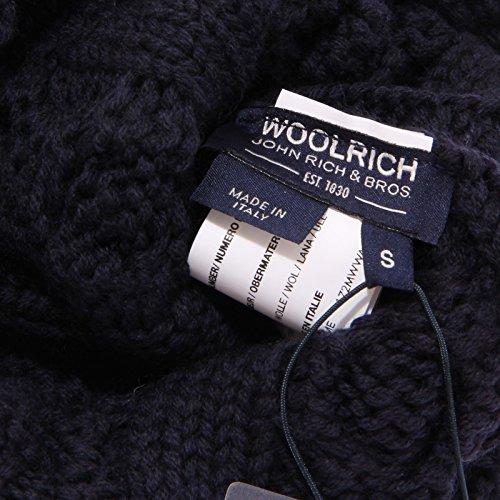 Donna 7882w Woolrich Hat Wool Blu Cuffia Blue Woman SExOZ