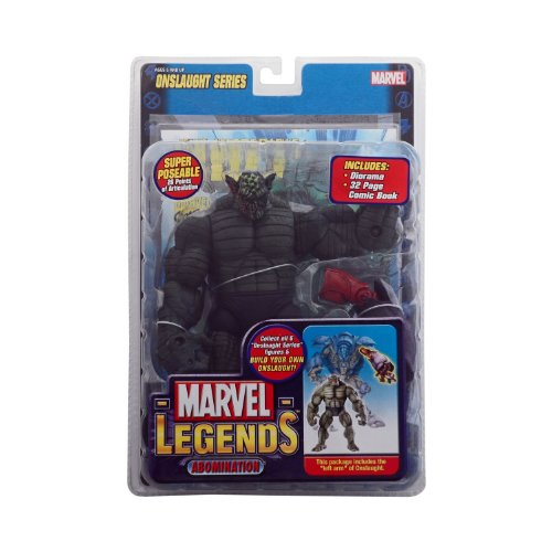 Marvel Bad Guys - Marvel - Legends Abomination Melted Face Variant