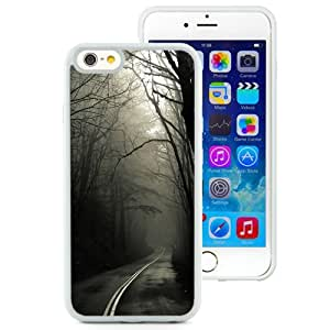 Dark Road Forest (2) Silicone TPU iPhone 6 4.7 Inch Protective Phone Case