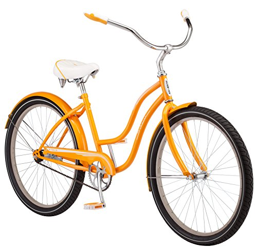 Schwinn Women's Talia Cruiser 26″ Wheel Bicycle, Orange, Small Frame Size Review