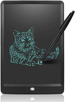 BYSP Tableta de Escritura LCD de 10 Pulgadas, Smart Electronic Notepad Kids Gift Message Art Graphic Drawing Board, para el Aprendizaje en la Oficina, Negro: Amazon.es: Electrónica