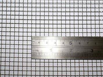 Geflochtenem Draht 5 Masche -- 30x60cm Größe - 4.5mm Loch - 0.7mm ...
