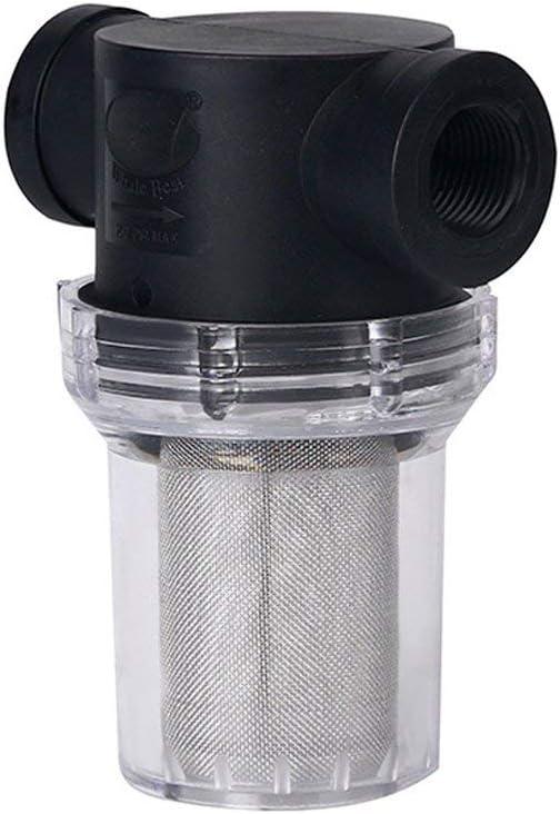 Vrsupin0 Pompe /à filtre 20 mm//25 mm Filtre GH D/ébit Passoire Multifonction Jardin Ext/érieur Tuyau dirrigation Maille Inline 25 mm 20mm Pas de z/éro Voir image 1 2