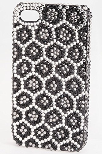 Karmas Canvas Crystal Honeycomb iPhone 4/4S Case - Online Prada Shopping