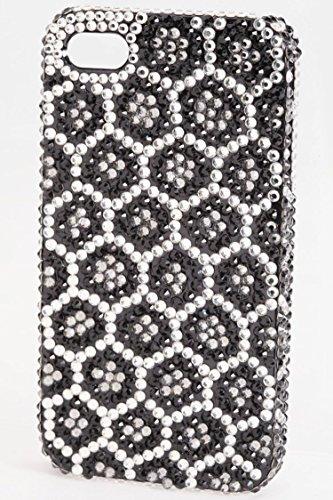 Karmas Canvas Crystal Honeycomb iPhone 4/4S Case - Online Shopping Prada