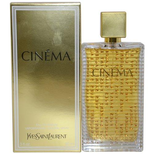 Yves Saint Laurent Cinema Eau De Parfum Spray for Women, 3 Ounce (Yves Saint Laurent Jasmine Perfume)