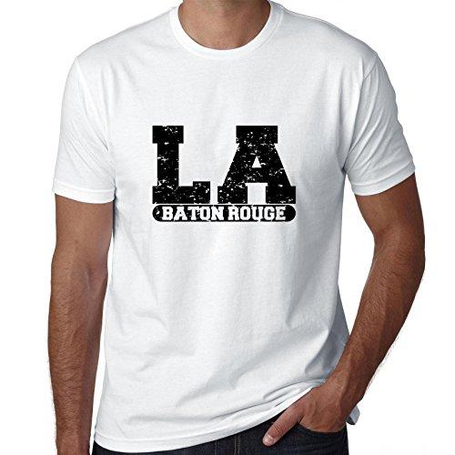 Baton Rouge, Louisiana LA Classic City State Sign Men's T-Shirt -