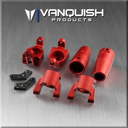 Vanquish Products Axial Wraith Stage One Kit Red Anodized ()