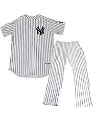 2750852eeefe2 Jeff Pentland Uniform - NY Yankees 2015 Game Used  61 Pinstripe Jersey Hat  and Pants