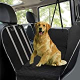Dog Car Seat Covers, Pet Seat Cover for Back Seat with Viewing Window