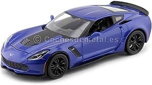Chevrolet 2015 Corvette C7 Z06 Blue 1/24 by Maisto 31133