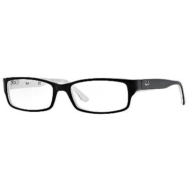 54b59ac7994069 RAYBAN Unisex-Erwachsene Brillengestell 5114, Schwarz, 52  Amazon.de ...