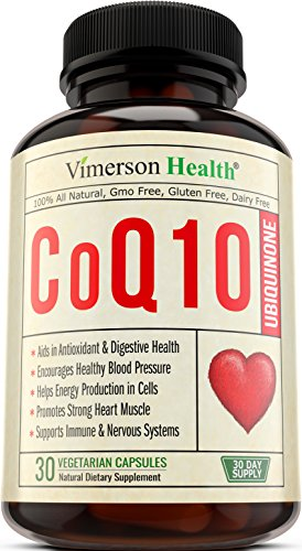 CoQ10 Ubiquinone 200mg Cardiovascular Health - Promotes Cellular Energy, Supports Healthy Brain, Heart, Blood Pressure, Digestive & Immune Systems. All Natural & Non-Gmo Coenzyme Q10 Supplement