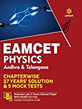 EAMCET Physics Andhra and Telangana Chapterwise 26 Years' Solutions and 5 Mock Tests