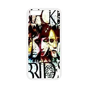 Custom High Quality WUCHAOGUI Phone case BVB - Black Veil Brides Music Band Protective Case For Apple Iphone 6,4.7