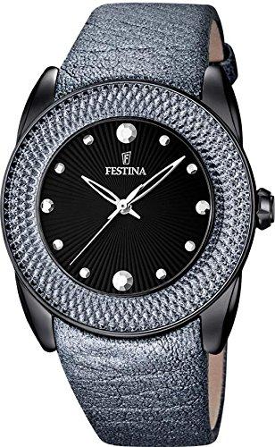 Festina Damen-Armbanduhr DREAM COLLECTION Analog Quarz Leder F16591-D