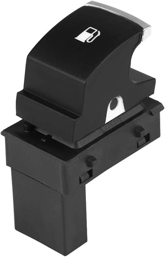 Botón de Interruptor de Apertura de la Puerta de Gas Combustible Aramox para Golf Jetta MK5 Touran, OE 1KD959833