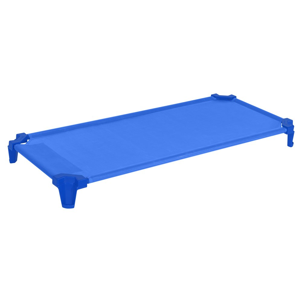 Wood Designs WD87801 Space-Saving Factory-Assembled Cot, 5 x 53 x 23'' (H x W x D), Blue, Pack of 1