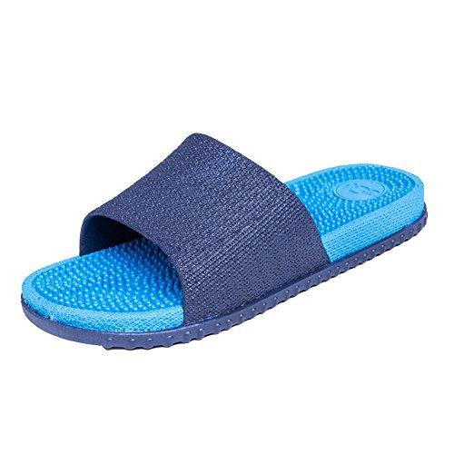 Classic Bains Piscine Pantoufles Salle Bleu Chaussures Foncé Sandales D'été Douche De Doux Maison hommes Super Antidérapant Pink Femmes Plage rqwt8Arg