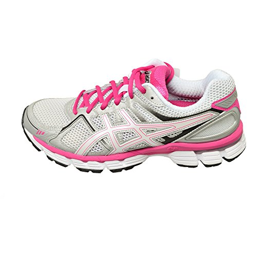 Asics - Zapatillas de running de Material Sintético para mujer blanco White/White/Pink