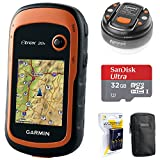 Garmin eTrex 20x Handheld GPS (010-01508-00) with 32GB Accessory Bundle Includes, 32GB Memory