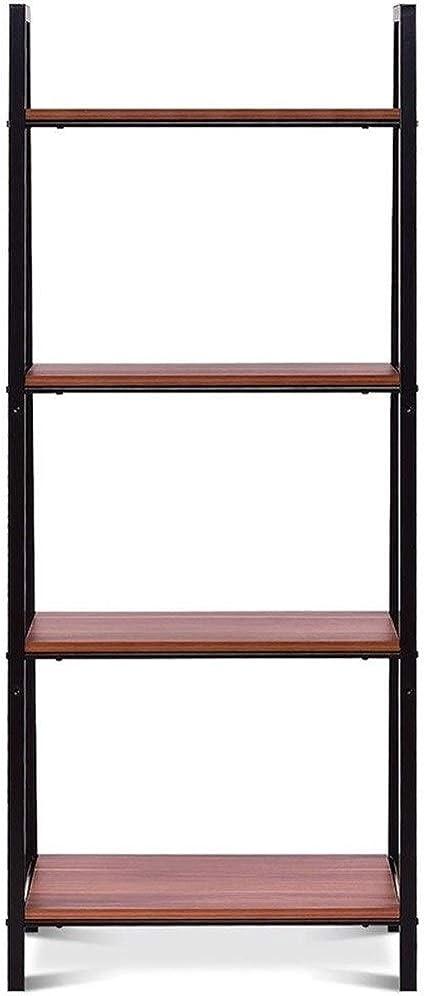 Excelente Estabilidad Duradera Escalera Marco de Almacenamiento Estantería Robusta de Hierro Estante de Libro del Estante de exhibición de Muebles Organizador, Decorativo: Amazon.es: Electrónica