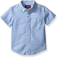 The Children's Place Boys Baby and Toddler Uniform Oxford Button Down S