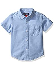 The Children's Place Boys' Short Sleeve Oxford Shirt