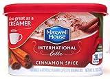 international foods coffee - Maxwell House International Latte: Cinnamon Spice (Pack of 2) 9.1 oz Size