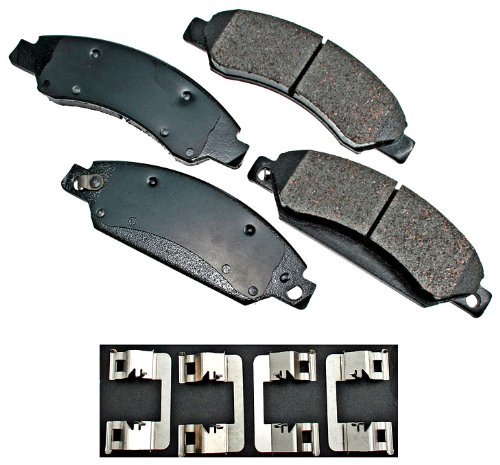 Akebono ACT1092 ProACT Ultra-Premium Ceramic Brake Pad Set