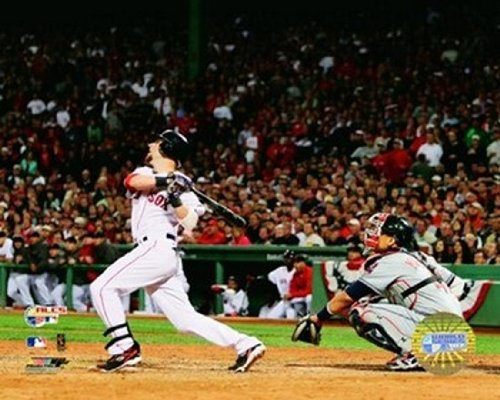 Dustin Pedroia -07 Alcs Game 7 Home Run Photo Print