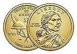 2016 P  and  D Sacagawea Dollar Native A