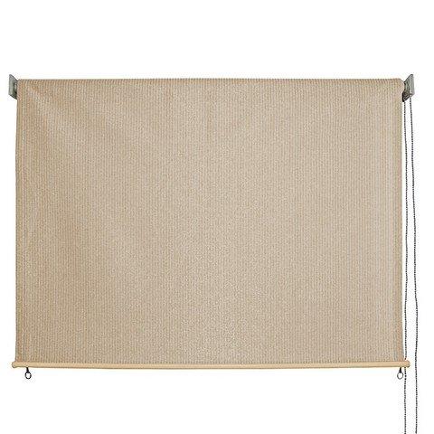 Keystone Fabrics Outdoor Roller Sun Shade, 6-Feet by 6-Feet, Monterey