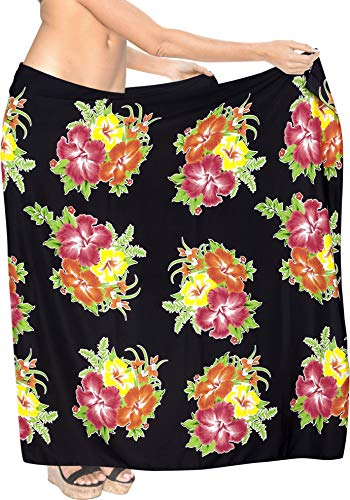 Hawaiian Beach Bikini Wrap Sarong Printed 72
